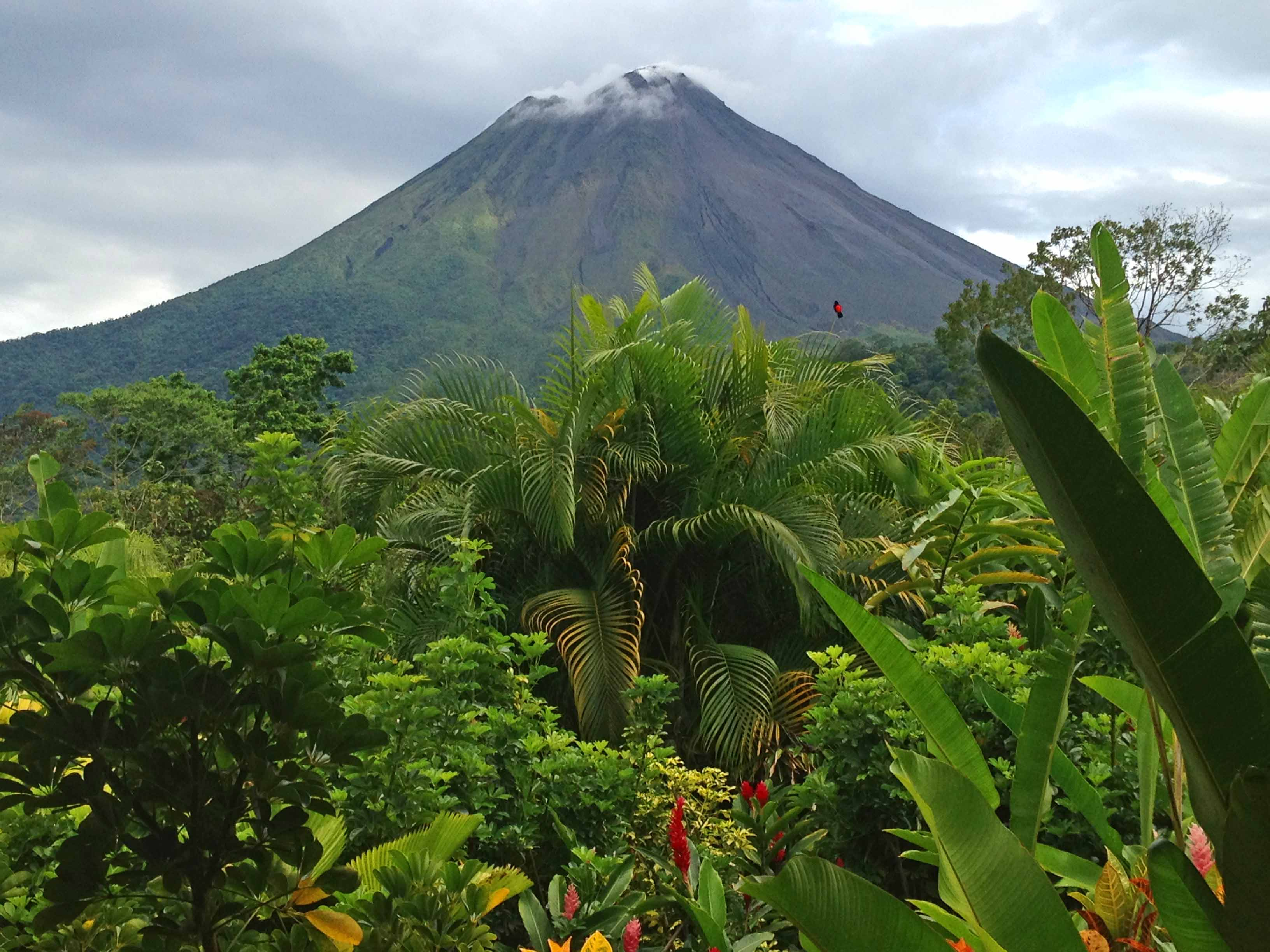 Here's a shot I took of the Arenal Volcano in Costa Rica.